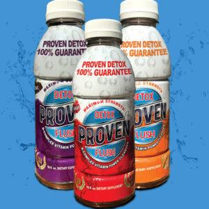 PROVEN DETOX™ Flush 16 oz ready-to-drink formula