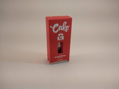 Cake Blue Dream Sativa High Potency Delta-8 Vape Cartridge.