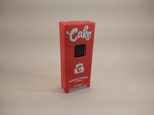 Cake Purple Punch Hybrid High Potency Delta-8 Disposable Vape.