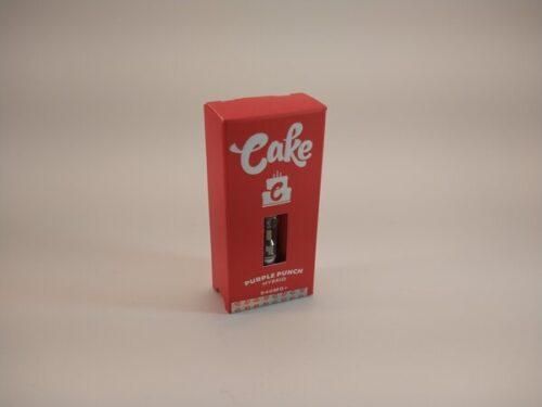 Cake Purple Punch Hybrid High Potency Delta-8 Vape Cartridge.
