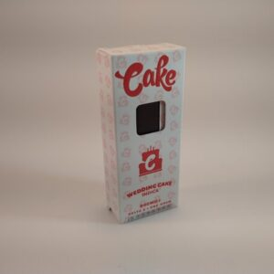 Cake Wedding Cake Indica High Potency Delta-8 Disposable Vape.