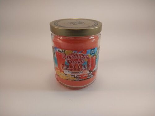 Caribbean Punch Smoke Odor Exterminator Candle