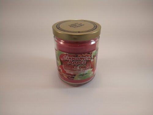 Cinnamon Apple Smoke Odor Exterminator Candle