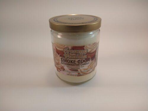 Creamy Vanilla Smoke Odor Exterminator Candle