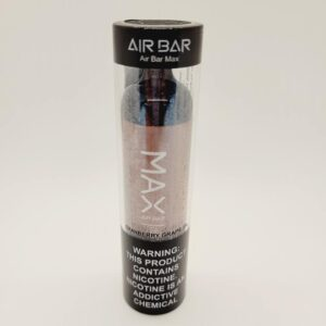 Air Bar Max Cranberry Grape Disposable Vape 2000 Puffs
