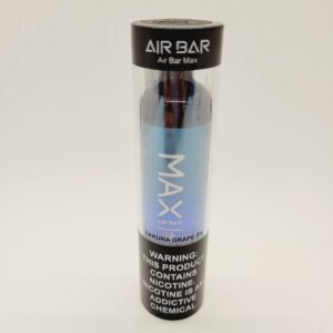 Air Bar Max Sakura Grape Disposable Vape 2000 Puffs