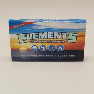 Elements Single Wide Double Pack Rolling Papers