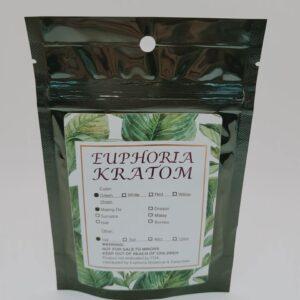 Euphoria Kratom Green Maeng Da 1oz Powder