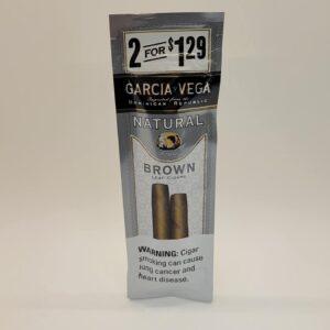Garcia y Vega Brown Cigarillos 2 Pack for $1.29