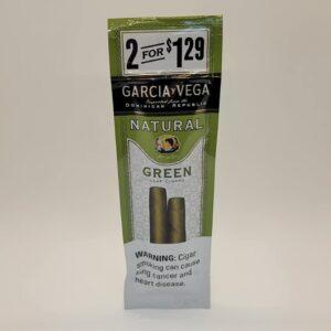 Garcia y Vega Green Cigarillos 2 Pack for $1.29