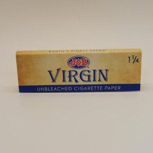 Job Virgin Unbleached 1 1/4 Papers