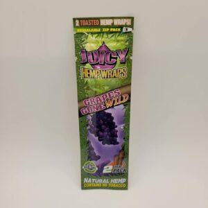 Juicy Grapes Gone Wild Hemp Wraps 2 Pack
