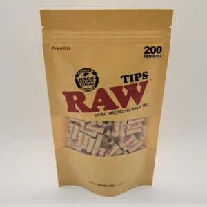 Raw Pre-Rolled Tips 200 Pack