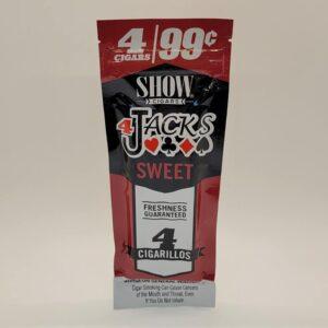 Show 4 Jacks Sweet Cigarillos