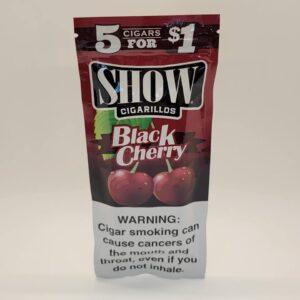 Show Black Cherry Cigarillos