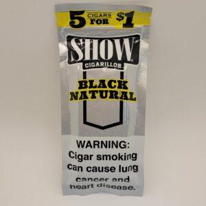 Show Black Natural Cigarillos