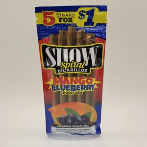 Show Mango Blueberry Poco Loco Cigarillos