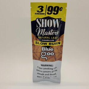 Show Masters Blue Goo Natural Leaf Cigarillos