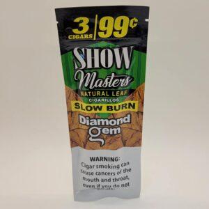 Show Masters Diamond Gem Natural Leaf Cigarillos