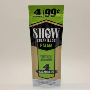 Show Palma Cigarillos 4 Pack for 99 cents.