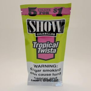 Show Tropical Twista Cigarillos 5 pack for $1