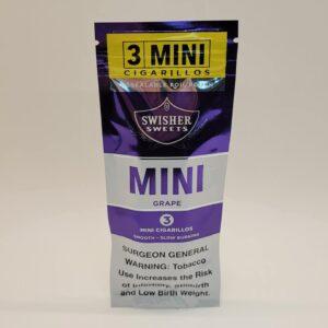 Swisher Mini Grape Cigarillos 3 Pack