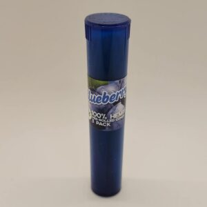 Tasty Tips Blueberry Pre-Rolled Hemp Cones 3 Pack