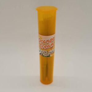 Tasty Tips Orange Cream Pre-Rolled Hemp Cones 3 Pack
