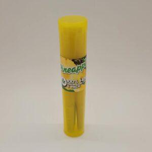 Tasty Tips Pineapple Pre-Rolled Hemp Cones 3 Pack
