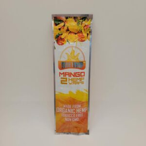 True Hemp Mango Hemp Wraps 2 Pack