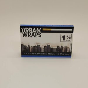 Urban Wraps 1.5 Rolling Papers. Designed to look like a cigarette.