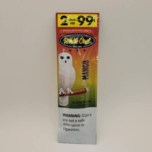 White Owl Mango Cigarillos 2 pack 99 cents.