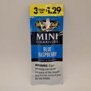White Owl Mini Blue Raspberry Cigarillos