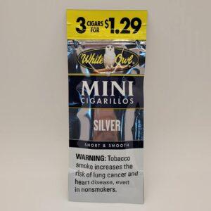 White Owl Mini Silver Cigarillos