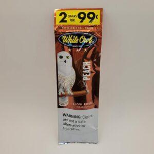 White Owl Peach Cigarillos