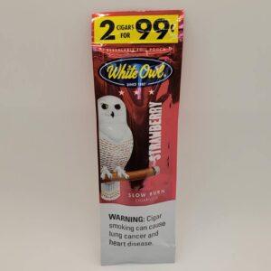 White Owl Strawberry Cigarillos