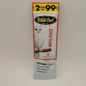White Owl White Peach Cigarillo