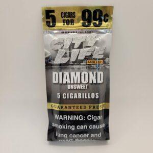 City Life Diamond Unsweet Cigarillos