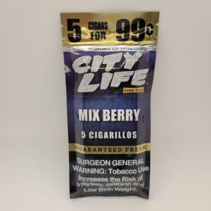City Life Mix Berry Cigarillos