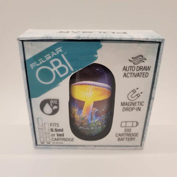 Pulsar Obi Mushroom Auto Draw Cartridge Battery