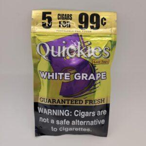 Good Times Quickies White Grape Mini Cigarillos