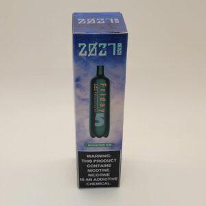 Air Bar 2027 Friday Monster Ice Disposable Vape 2000 Puffs