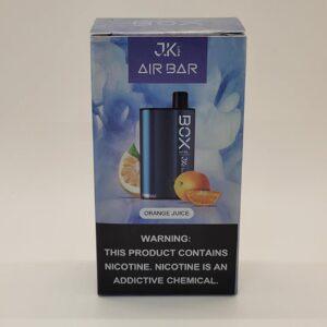 Air Bar Box Orange Juice Disposable Vape 3000 Puffs