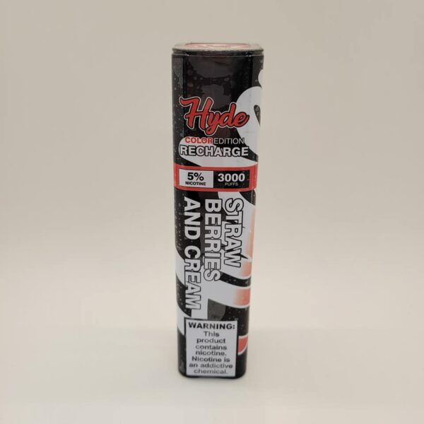 Hyde Recharge Strawberries and Cream Disposable Vape