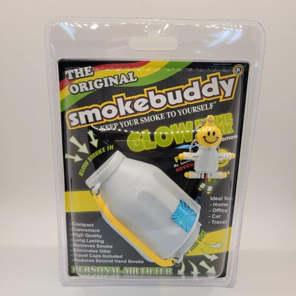 White Glow in the Dark Original Smokebuddy