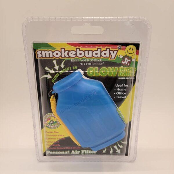 Blue Glow in the Dark Smokebuddy Jr.